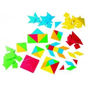 Tangrams Plastic 15 Set (Polybag)