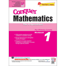 Conquer Mathematics (The 4 Operations) Book 1