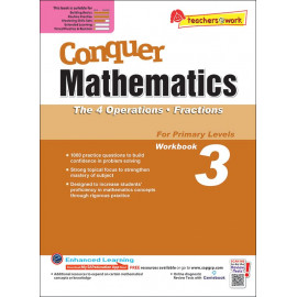Conquer Mathematics (The 4 Operations and Fractions) Book 3