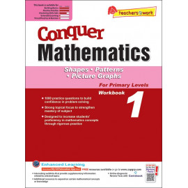 Conquer Mathematics (Shapes, Pattern, Picture Graphs) Book 1