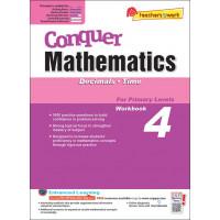 Conquer Mathematics (Decimals and Time) Book 4