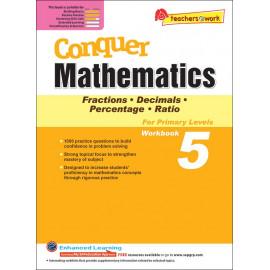 Conquer Mathematics (Fraction. Decimal. Percentage. Ratio) Book 5