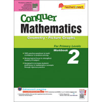 Conquer Mathematics (Geometry and Picture Graphs) Book 2