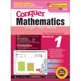 Conquer Mathematics (Length, Time, and Money) Book 1