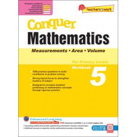 Conquer Mathematics (Measurements. Area and Volume) Book 5